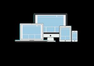 website in verschillende formaten zoals tablet en mobiel